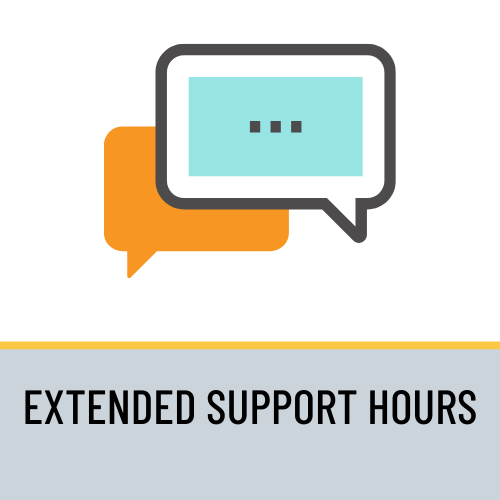 Support Hours Extended For All