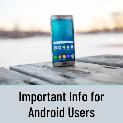 Important Notice for Android Companion App Users