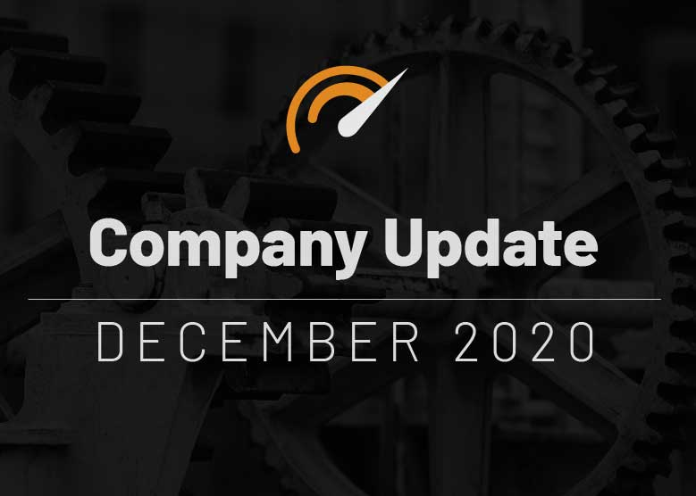 Company Update December 2020