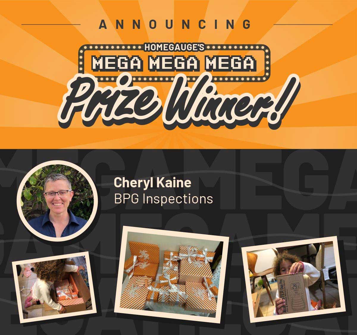 Cyber Monday 2020 Prize Winner