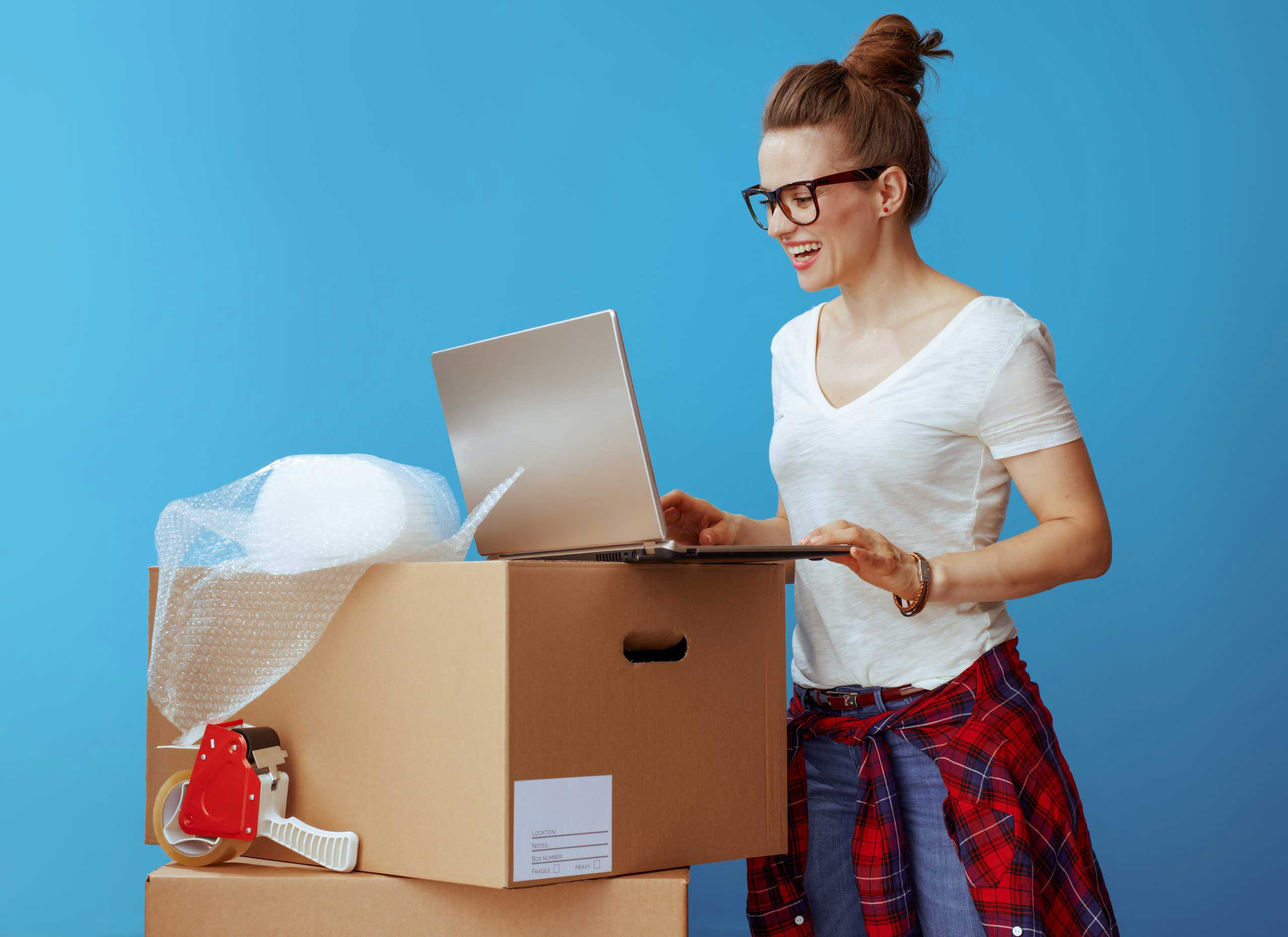Online moving checklist for new homeowners