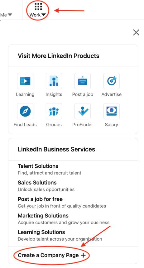 Home Inspector LinkedIn Page Setup